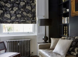 Dark Patterned Blinds